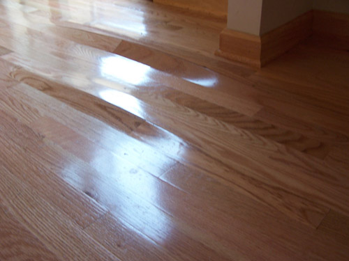 Inspect a floor certified floor covering inspector for Hardwood floors cupping